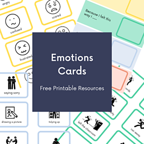 Emotions card graphic, click to download