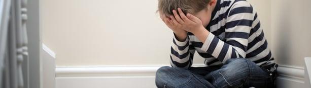 ACEs sad child unhappy